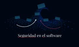 Seguridad en el software