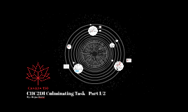 CHC2D1 Culminating Task