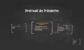Direktwahl des Präsidenten