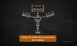 Código de Faltas de la provincia de Córdoba