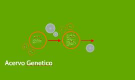 Acervo Genetico