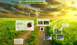 Language and The Environment