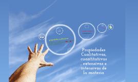 Copy of Propiedades Cualitativas, cuantitativas, extensivas, intensivas