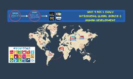 UNIT 4 AOS 1: SDG's