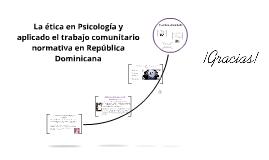 La ética en Psicología