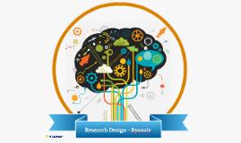 Research Design - RyanAir