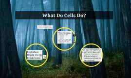 What Do Cells Do?
