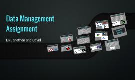 Data Management Assignment