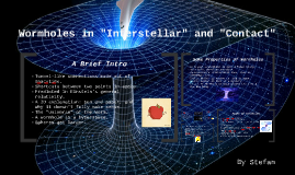 "Wormholes and ""Interstellar"""