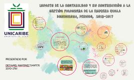 IMPACTO DE LA CONTABILIDAD Y SU CONTRIBUCIÓN A LA GESTIÓN FI