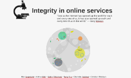 Integrity in online services