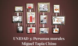 UNIDAD 3: Personas morales