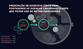 PRESCRIÇÃO DE EXERCÍCIO FÍSICO PARA