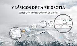 CLáSICOS DE LA FILOSOFíA