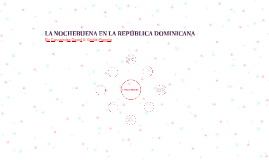 LA NOCHEBUENA EN LA REPÚBLICA DOMINICANA