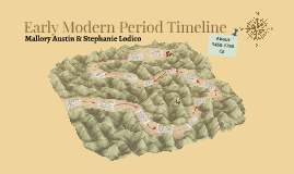 Early Modern Period Timeline