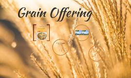 Grain Offering