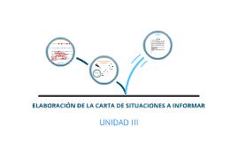 Copy of Elaboracion de la carta de situaciones a informar