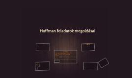 Huffman megoldások