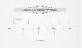 Capacitación Servicio y Protocolo