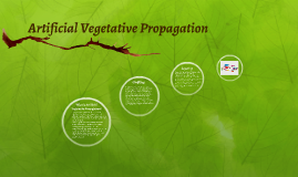 Artificial Vegetative Propagation
