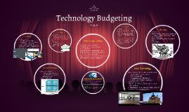 Technology Budgeting