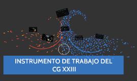 CG XXIII INSTR DE TRABAJO ES