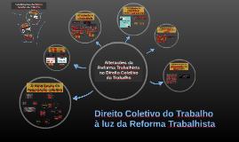 Direito Coletivo do Trabalho à luz da Reforma Trabalhista