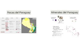 Rocas y minerales del paraguay