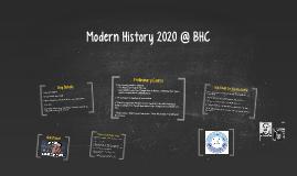 Modern History 2019 @ BHC