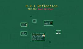 ADM 670 3-2-1 Refletion