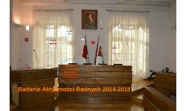 Badanie Aktywności Radnych 2014-2018