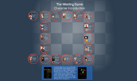Westing Game Character Introduction