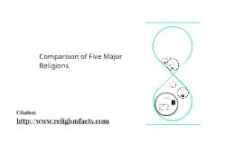 Comparison Of Five Major Religions By Thomas Solomin On Prezi - Five major religions