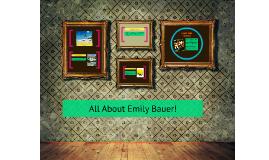 Emily Bauer!
