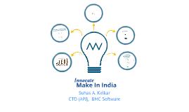 Innovate In India