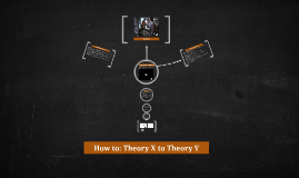 How To: Theory X to Theory Y
