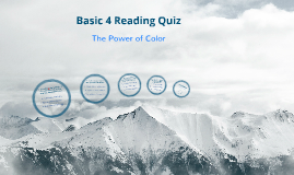 Basic 4 Reading Quiz