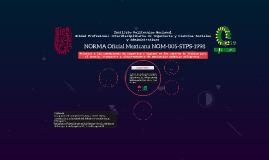 NORMA Oficial Mexicana NOM-005-STPS-1998