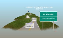 COMENTARIO DE TEXTO: EL RESUMEN (DBH)