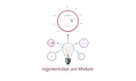 Argumentation and Rhetoric