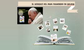 El mensaje del Papa Francisco - Catequesis