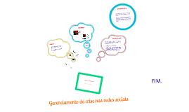 Gerenciamento de crise nas redes sociais
