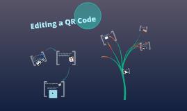 Editing a QR Code