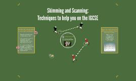 Skimming and Scanning