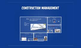 Copy of Construction Managment