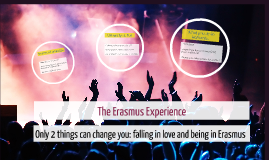 The Erasmus Experience