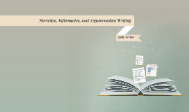 Copy of Narrative, Informative, and Argumentative Writing