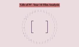 Life of Pi- Year 10 Film Analysis