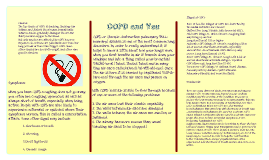 Pamphlet on COPD